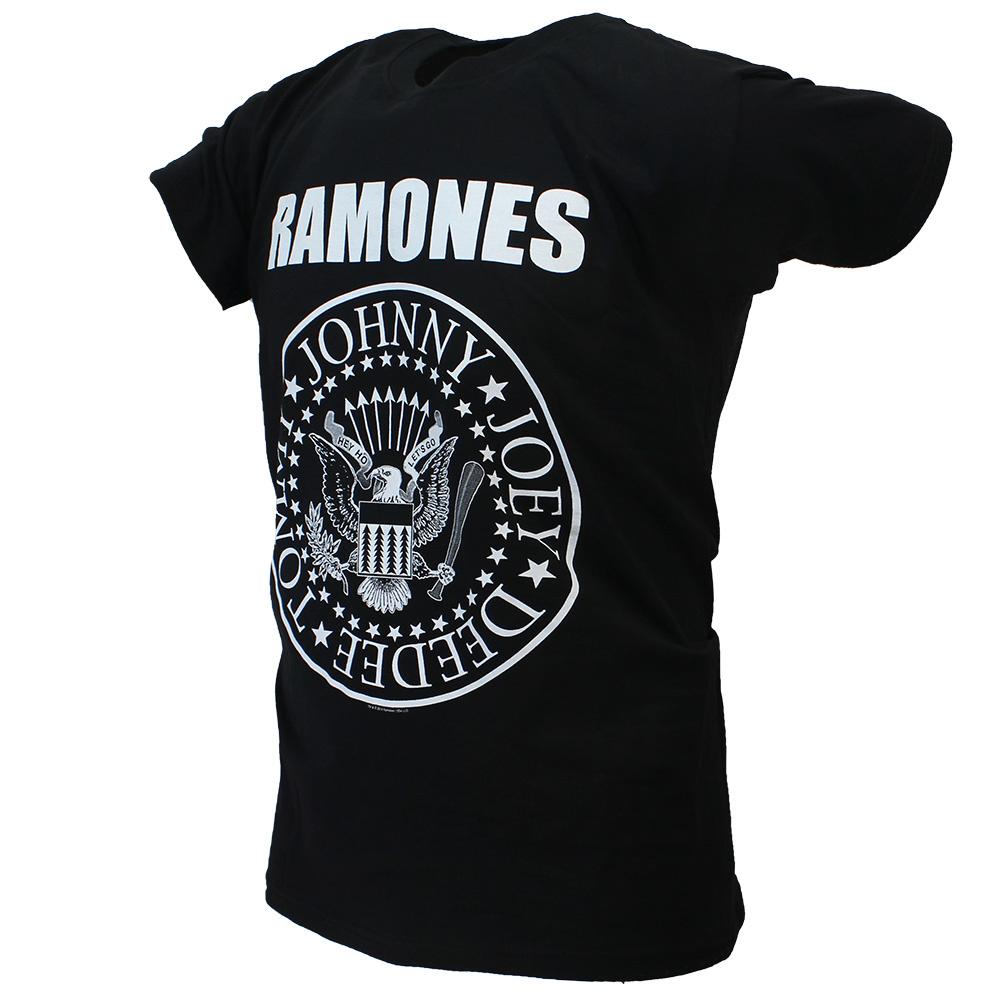 Band Merchandise The Ramones Presidential Seal T-Shirt Black