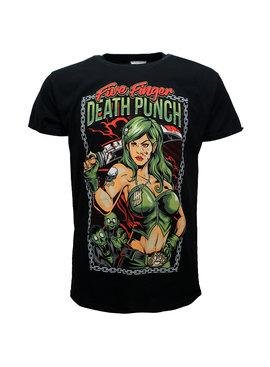 Band Merchandise Five Finger Death Punch Assassin T-Shirt