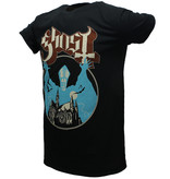 Band Merchandise Ghost Opus Official Band T-Shirt Black
