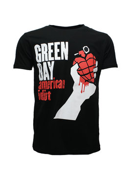 Band Merchandise Green Day American Idiot T-Shirt