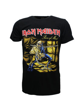 Band Merchandise Iron Maiden Piece Of Mind Official T-Shirt