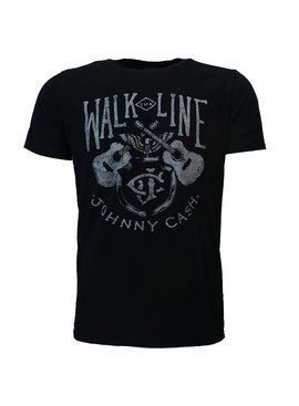 Band Merchandise Johnny Cash Walk The Line T-Shirt