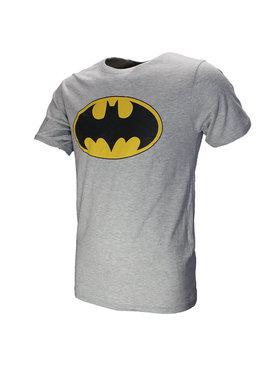 Batman Batman Classic Logo T-Shirt Kids Grijs