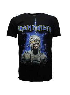 Band Merchandise Iron Maiden Powerslave Mummy Band T-Shirt