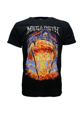 Band Merchandise Megadeth Countdown To Extinction T-Shirt