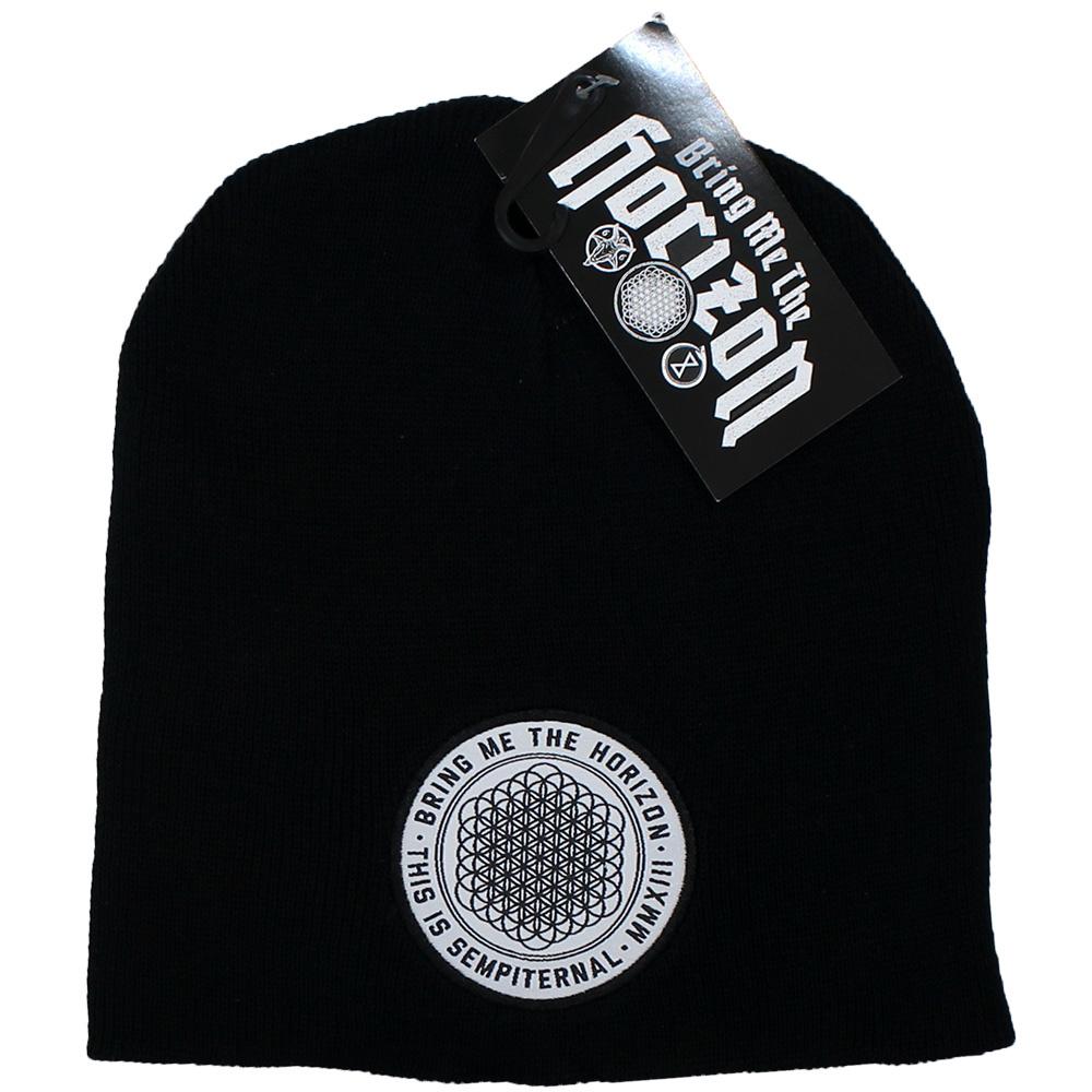 Band Merchandise Bring Me The Horizon BMTH Sempiternal Beanie Muts Zwart