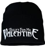 Band Merchandise Bullet For My Valentine BFMV Logo Beanie Muts Zwart