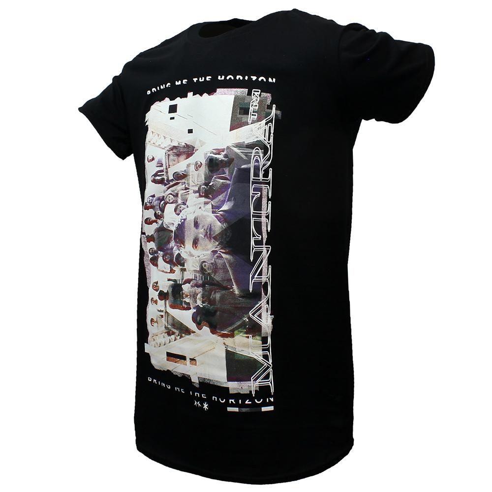 Band Merchandise Bring Me The Horizon Mantra Band T-Shirt Zwart