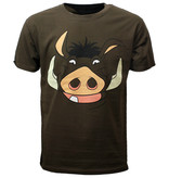 The Lion King Disney The Lion King Pumbaa T-Shirt Bruin