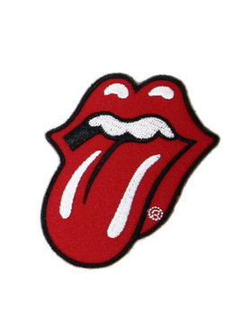 Band Merchandise The Rolling Stones Tongue and Lips Patch Rood