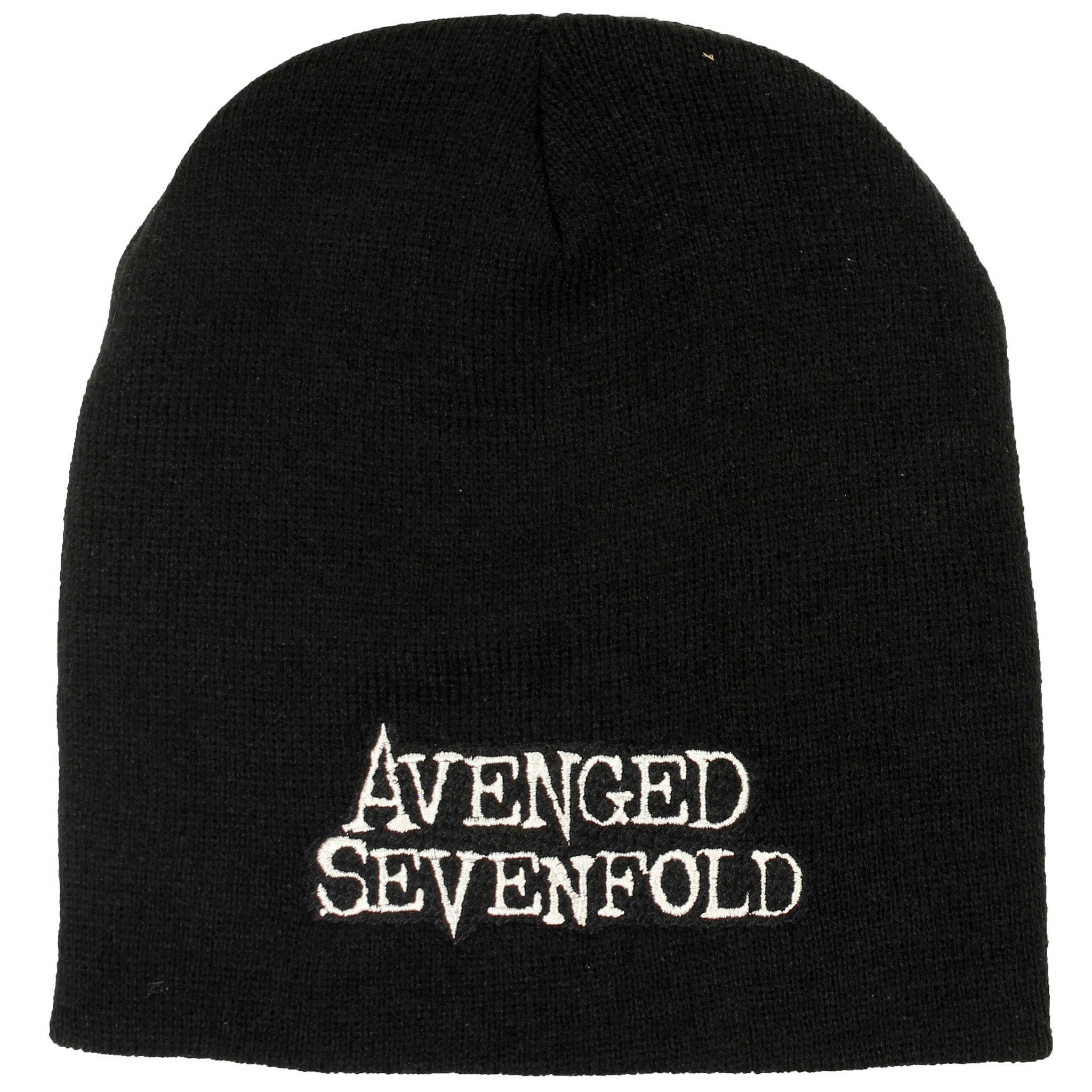 Band Merchandise Avenged Sevenfold A7X Logo Beanie Muts Zwart - Officiële Band merchandise