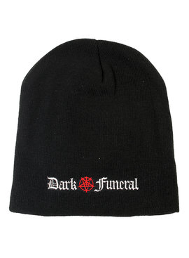 Band Merchandise Dark Funeral Logo Beanie Muts Zwart