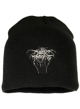 Band Merchandise Darkthrone Logo Beanie Muts Zwart