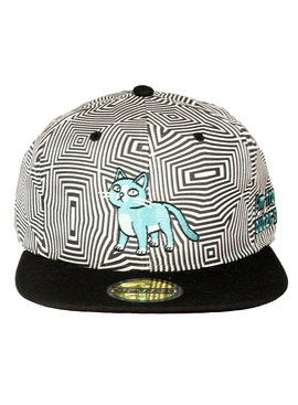 Rick and Morty Rick and Morty Talking Cat in Outer Space Snapback Cap Pet