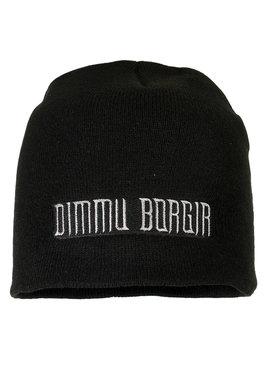 Band Merchandise Dimmu Borgir Logo Beanie Hat Black
