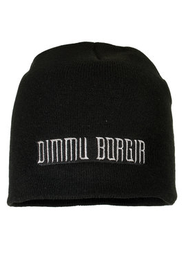 Band Merchandise Dimmu Borgir Logo Beanie Muts Zwart