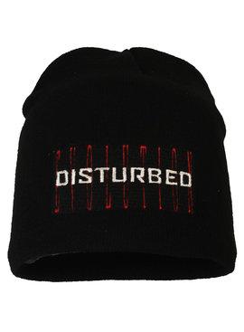 Band Merchandise Disturbed Evolution Logo Beanie Hat Black
