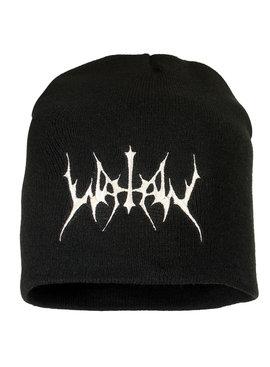 Band Merchandise Watain Logo Beanie Hat Black