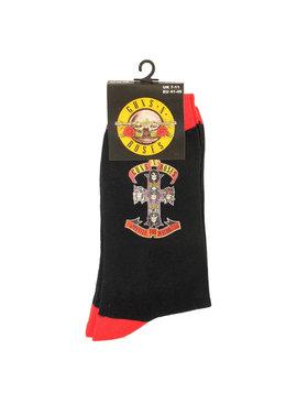 Band Merchandise Guns N'Roses Appetite For Destruction Sokken Zwart