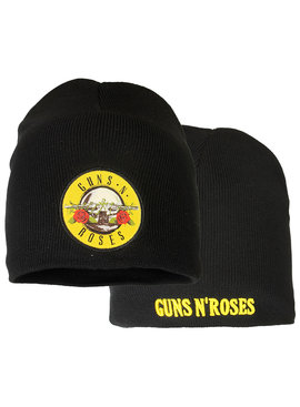 Band Merchandise Guns N'Roses Beanie Hat Black