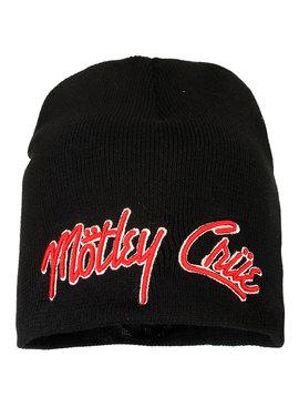 Band Merchandise Mötley Crue Logo Beanie Hat Black