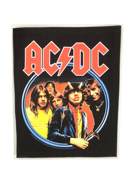 Band Merchandise AC/DC Highway To Hell Motief Grote Rugpatch