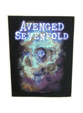 Band Merchandise Avenged Sevenfold Nebula Motief Grote Rugpatch