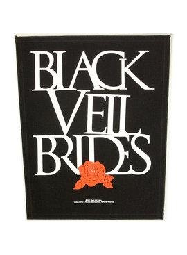 Band Merchandise Black Veil Brides Rose Design Large Backpatch