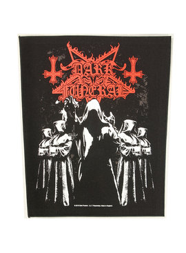 Band Merchandise Dark Funeral Shadow Monks Design Large Backpatch