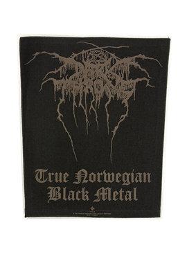 Band Merchandise Darkthrone True Norwegian Black Metal Motief Grote Rugpatch