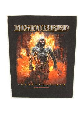 Band Merchandise Disturbed Indestructible Design Large Backpatch