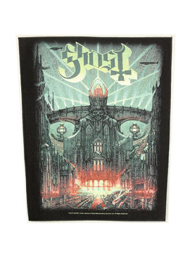 Band Merchandise Ghost Meliora Motief Grote Rugpatch