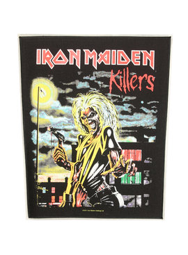 Band Merchandise Iron Maiden Killers Design Large Backpatch