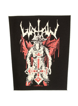 Band Merchandise Watain Inverted Cross Design Large Backpatch