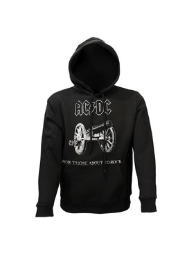 Band Merchandise AC/DC For Those About To Rock Hoodie Sweater Trui