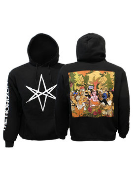 Band Merchandise Bring Me The Horizon PHSH Hex Logo Arm and Back Print Hoodie Sweater Trui
