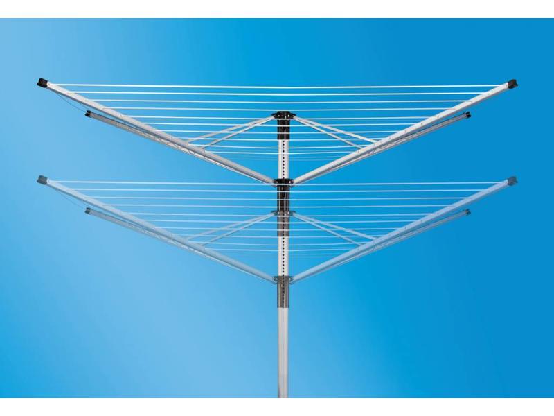 Leifheit Linolift 600 droogmolen incl. beschermhoes en bodemhuls - 60 m