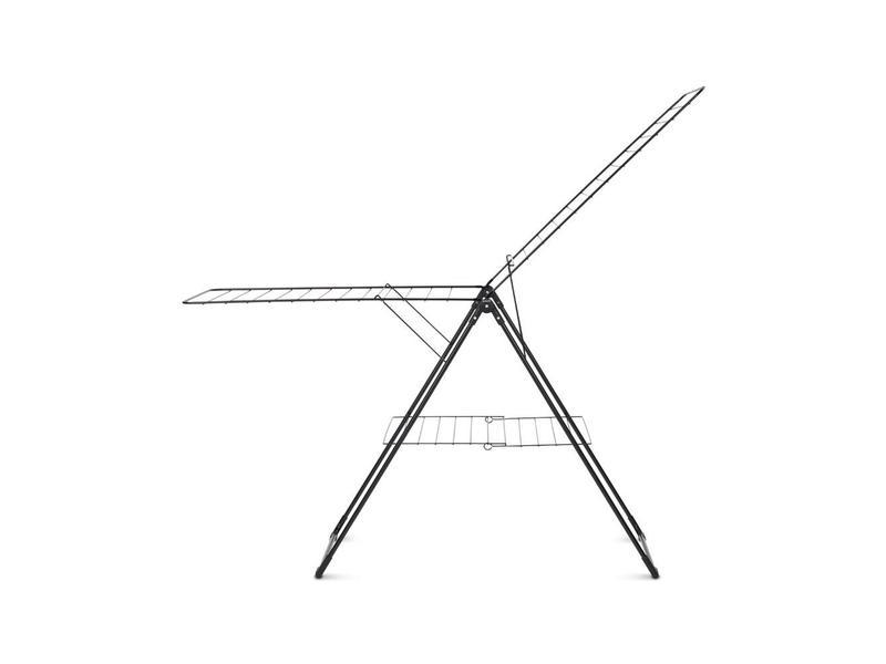 Brabantia Brabantia Droogrek T model - 20 meter - Zwart + gratis wasknijpertas