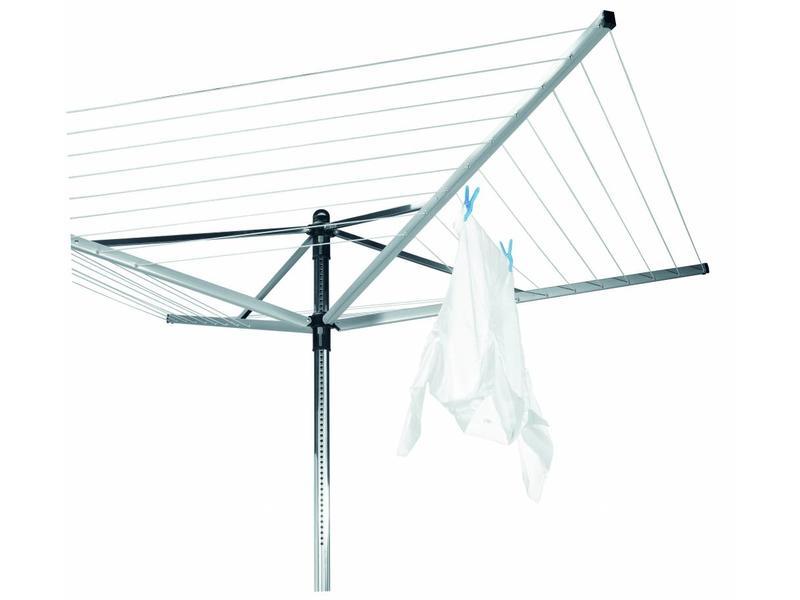 Brabantia Droogmolen Lift O Matic 50 meter met metalen grondanker (uit het assortiment)