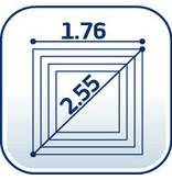 Leifheit Leifheit Droogmolen Linolift 500 - incl. betonanker en beschermhoes - 50m
