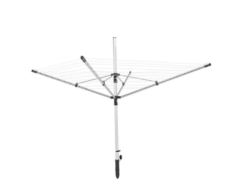Leifheit Linolift 500 droogmolen incl. beschermhoes en bodemhuls - 50 m