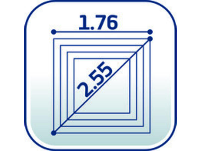 Leifheit Leifheit Droogmolen Linopush 500 - incl. betonanker en beschermhoes - 50m