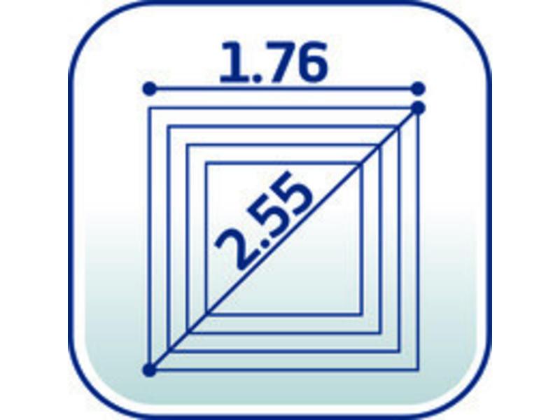 Leifheit Linopush 500 droogmolen incl. beschermhoes en bodemhuls - 50 m