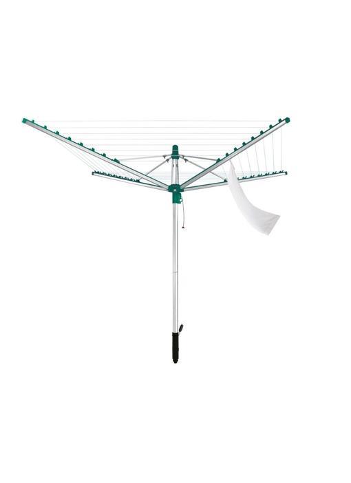 Leifheit Linomatic 400 VS droogmolen incl. bodemhuls - 40 m