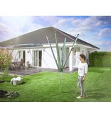 Leifheit Leifheit Droogmolen Linomatic 500 Plus - incl. betonanker - Groen - 50m