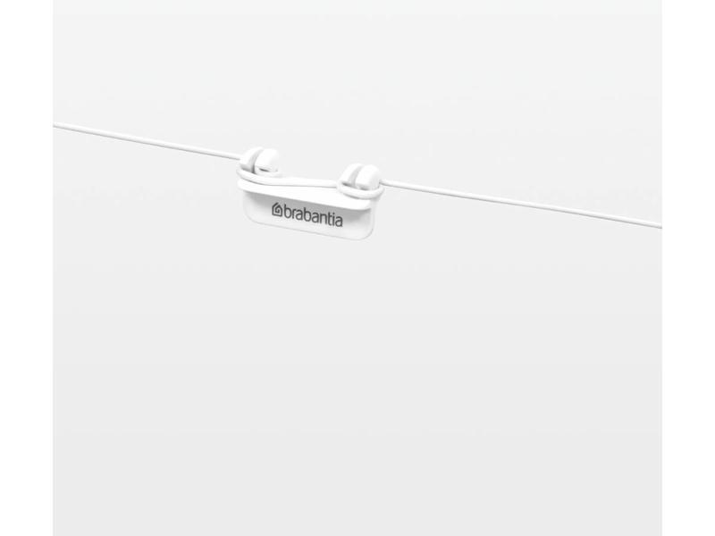 Brabantia Drooglijnset 12 meter - wit