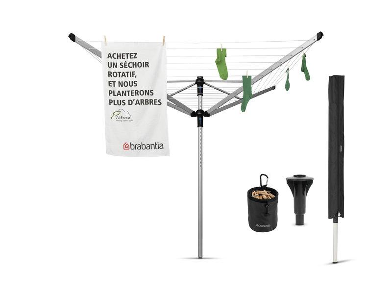 Brabantia Brabantia Droogmolen Lift-O-Matic Advance - 50m - incl. betonanker, beschermhoes en wasknijpertasje