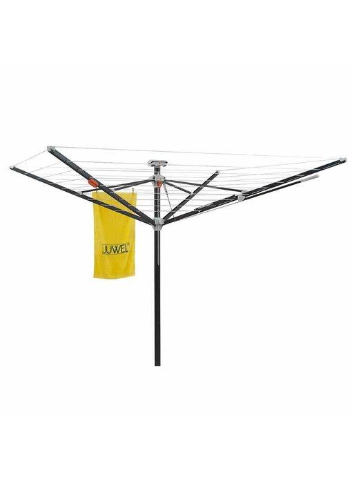 Juwel Droogmolen Futura Elegant XXL Lift - 51,5 meter - met grondanker en beschermhoes