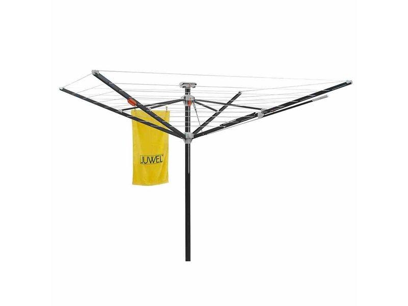 Juwel Juwel Droogmolen Futura Elegant XXL Lift - incl. grondanker en beschermhoes - 51.5m