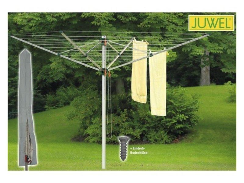 Juwel Juwel Droogmolen Comfortplus 600 - incl. grondanker en beschermhoes - 52.1m